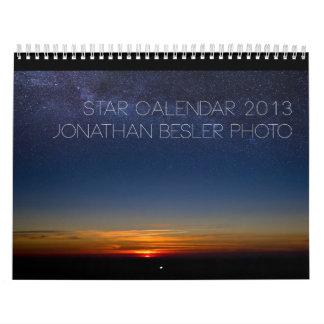 De Kalender 2013 van de ster