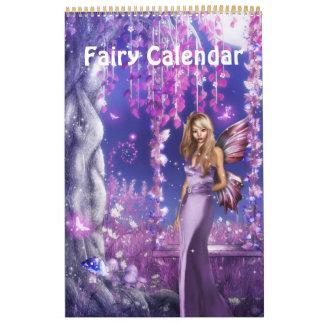 De Kalender 2014 van de Fee van de fantasie