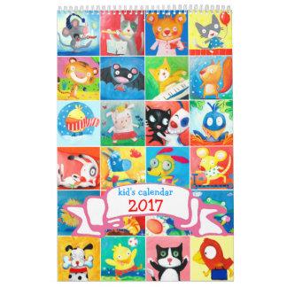 de kalender 2017 van het kind