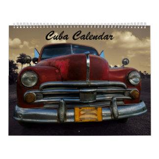 De Kalender 2018 van Cuba