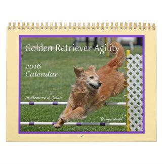 De Kalender van de Behendigheid van het golden