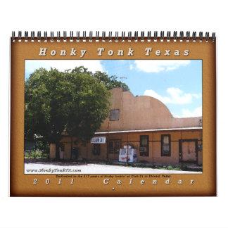 De Kalender van de Disco van Tonk Texas van Honky
