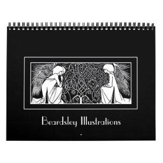 De Kalender van de Illustraties van de Jugendstil