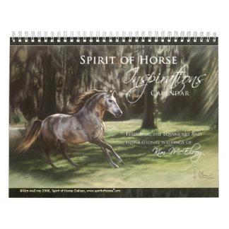De Kalender van de Inspiratie van het paard, ©Kim