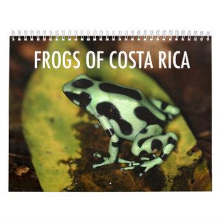 De Kalender van de Kikkers van Costa Rica