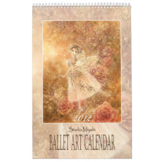 De Kalender van de Kunst van het ballet