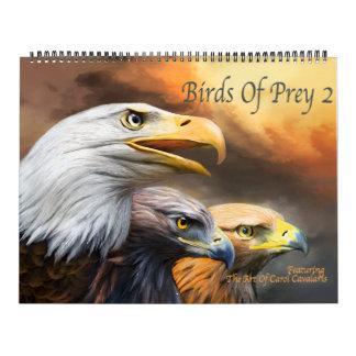 De Kalender van de Kunst van roofvogels 2