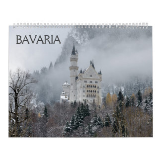 De Kalender van de Muur van Beieren 2018