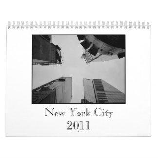 De Kalender van de Stad 2011 van New York