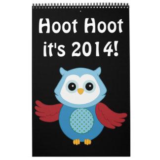 De Kalender van de Uil 2014 van de douane