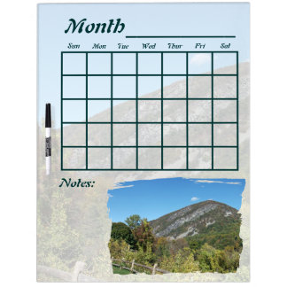 De Kalender van Gap van het Water van Delaware Whiteboard