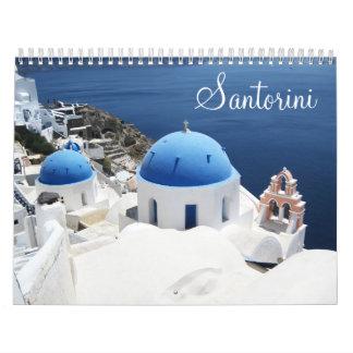 De Kalender van Griekenland van Santorini