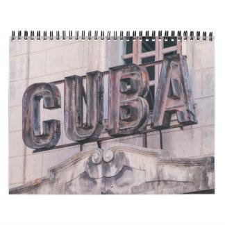 De Kalender van Havana, Cuba 2017