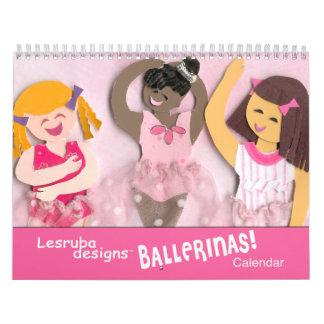 De Kalender van het ballet voor Meisjes