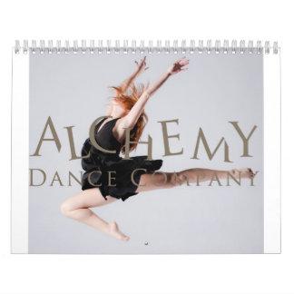 De Kalender van het Bedrijf van de Dans van de