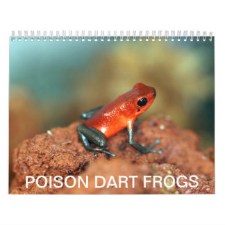 De kalender van het pijltjekikkers van het vergift