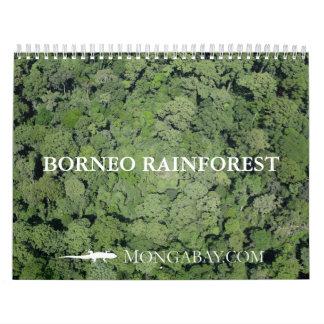 De Kalender van het Regenwoud van Borneo