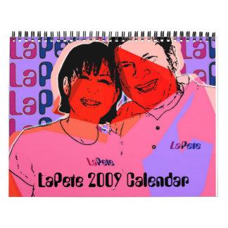 De Kalender van LaPete 2009