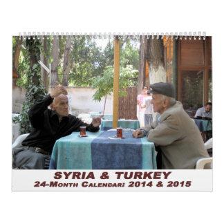 De Kalender van Syrië en van Turkije - 24 maand