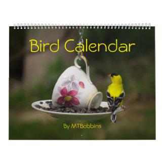 De Kalender van vogels met Grote Aantallen