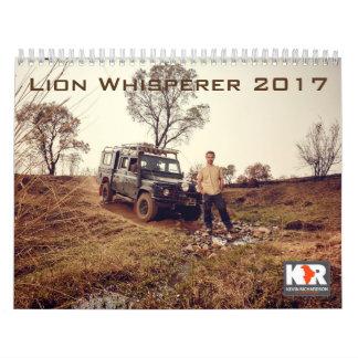 De Kalender van Whisperer 2017 van de leeuw
