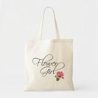 De Kalligrafie van het Meisje van de bloem en nam Draagtas