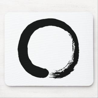 De Kalligrafie van Zen van de Cirkel van Enso Muismat
