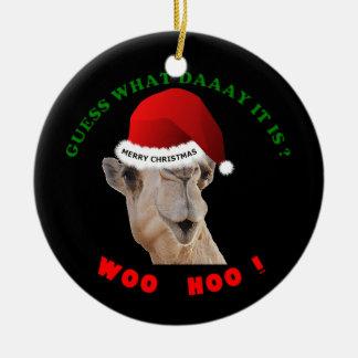 De Kameel van het Ornament van Kerstmis van de Dag