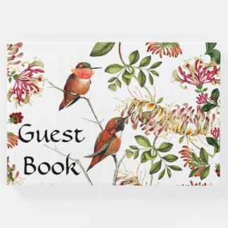 De kamperfoelie bloeit het Boek van de Gast van