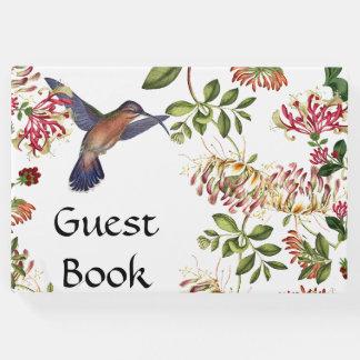 De kamperfoelie bloeit het Boek van de Gast van de
