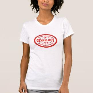 De Kampioen van de Wereld van de genealogie T-shirt