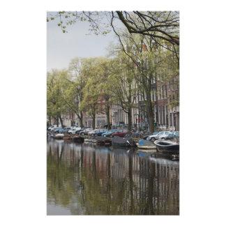 De kanalen van Amsterdam Folder Ontwerp