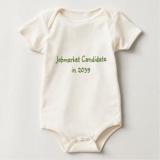 De Kandidaat van Jobmarket in 2039 Baby Shirt