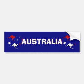De Kangoeroe van Aussie en de Zuidelijke DwarsStic Bumpersticker
