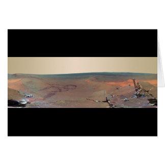 De Kans van Mars Rover van het Panorama van het Kaart