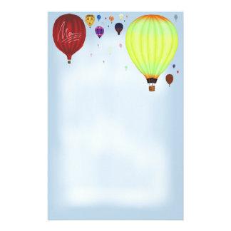 De Kantoorbehoeften van Balloons~ van de Lucht van Briefpapier