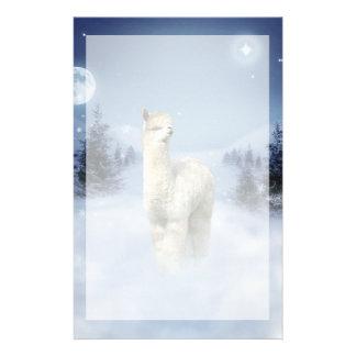 De Kantoorbehoeften van de Alpaca van de Nacht van Briefpapier