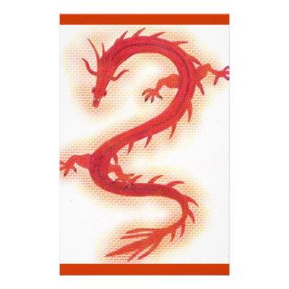 De Kantoorbehoeften van de Bakstenen van de draak Briefpapier
