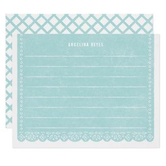 De Kantoorbehoeften van de Banner van de 10,8x13,9 Uitnodiging Kaart