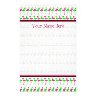 De Kantoorbehoeften van de flamingo - Roze en Briefpapier
