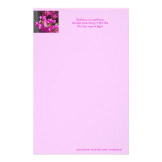 De Kantoorbehoeften van de Haiku's van de weg Briefpapier