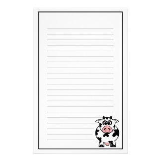 De Kantoorbehoeften van de koe Briefpapier