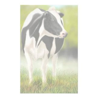 De Kantoorbehoeften van de Koe van Holstein Briefpapier
