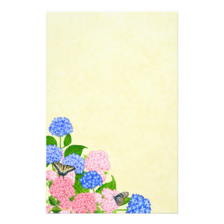 De Kantoorbehoeften van de Tuin van de Vlinder van Briefpapier