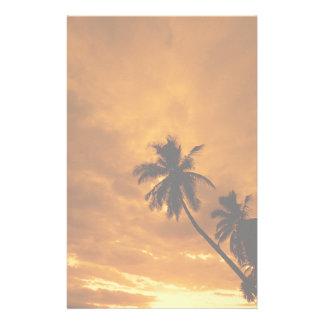 De Kantoorbehoeften van de Zonsondergang van het Briefpapier