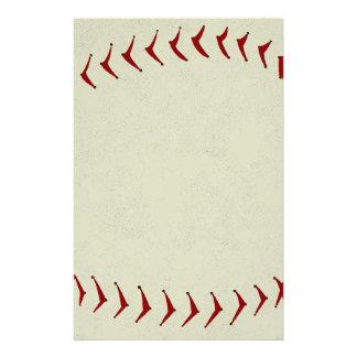 De Kantoorbehoeften van het honkbal Briefpapier