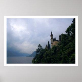 De Kapel van de heuveltop Poster