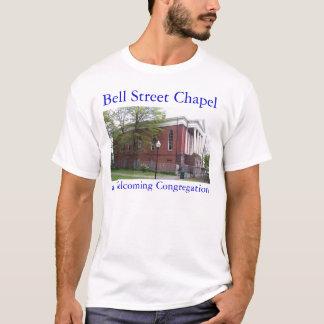De Kapel van de Straat van de klok - een Welkom T Shirt
