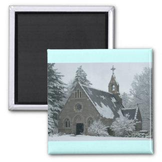 De Kapel van de winter Magneet