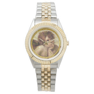 De Kapel van Sistine van de Cherubijn van Raphael Horloge